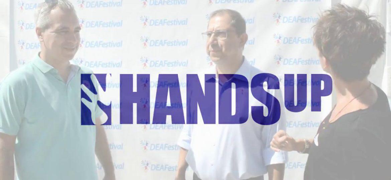 Η HandsUp χορηγός στο Deafestival 2017