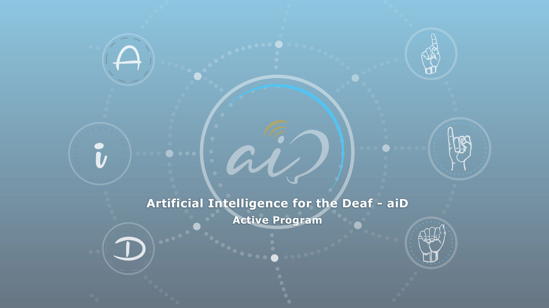 Artificial Intelligence for the Deaf - aiD